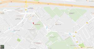 Localisation de la compagnie d'arc de Villiers-sur-Marne
