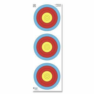 Blason tri-spots tir en salle